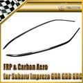 Car-styling Para Subar Impreza GDA GDB GDC 7 8 9 Carbon Fiber Deflector De Viento 2 unids
