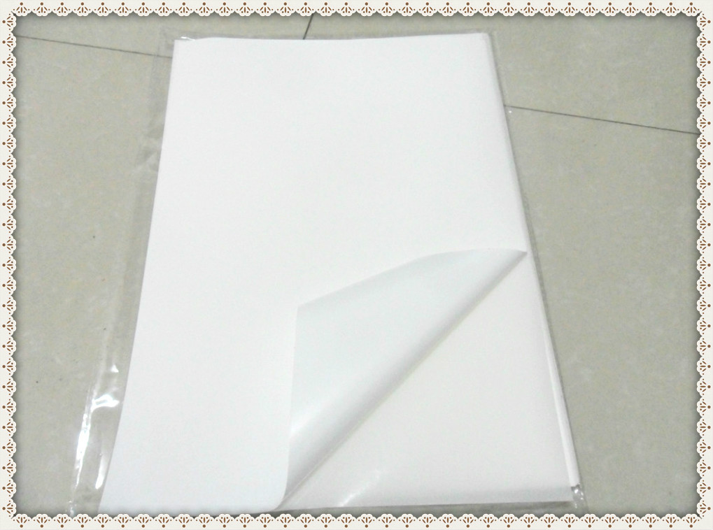 US $11 0 |Free Shipping A4 Blank Waterproof Sticker Paper Matte White Vinyl  Label SPECIAL for Inkjet Printer-in Stationery Stickers from Office &