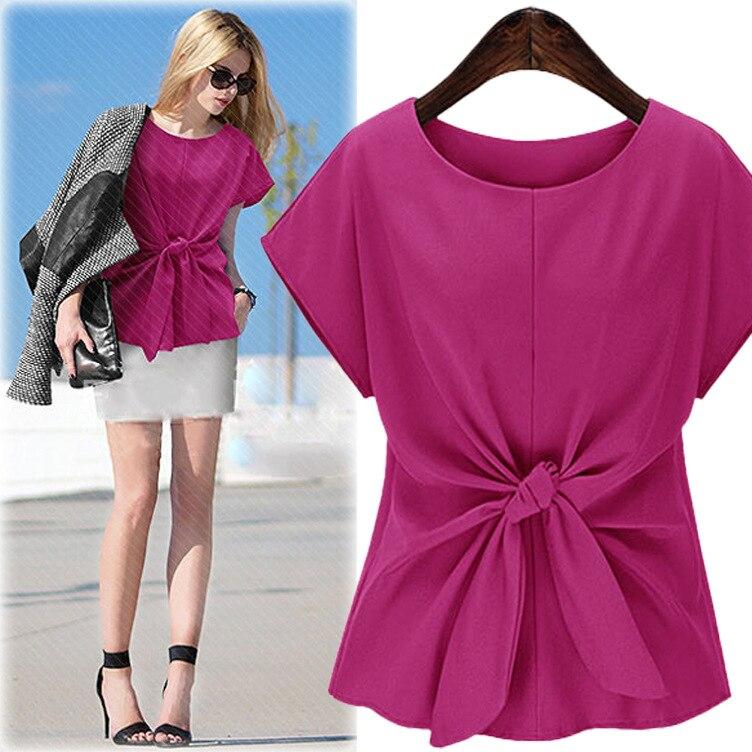 bow solid sweets women tops 2017 o neck blusas mujer blusa social feminina moda femininas camisa