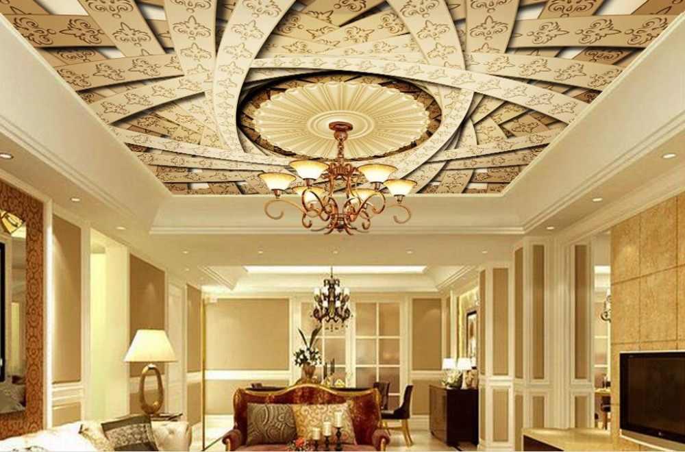 Personnalisé 3d plafond papier peint ange annonciation papier peint mur plafond papier peint photo de luxe 3d papier peint pour plafond