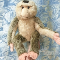Rare Bassweed Monkey Plush Doll Simulation Animals Toy For Children Housewares Baboon Models Dolls Gifts