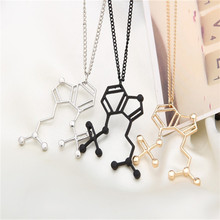 2017 Science Students Molecular Necklace Speed Selling Hot Source Selling New Fashion Europe And The United States Jewelry(China)
