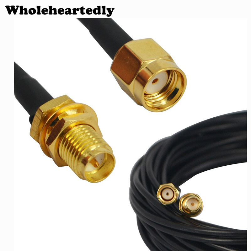 Brand New 9M Antenna RP-SMA Extension Cable For WiFi Wi-Fi Router