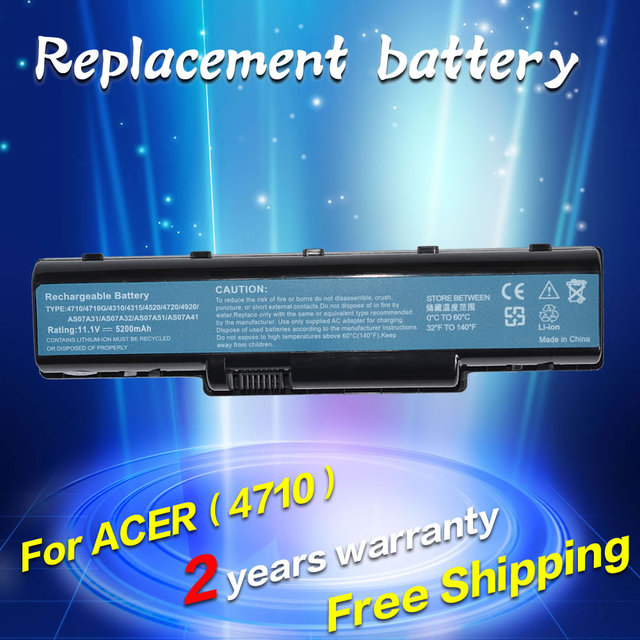 JIGU AS07A31 AS07A41 Battery For Acer Aspire 4720 4730 5735Z 5737Z 5738 5738DG 5738G 5738Z 5738ZG 5740 5740DG 5740G