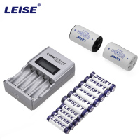 LEISE 572 Ni MH Intelligent LCD Display Quick Charger With 4 Slots AA AAA Rechargeable Battery