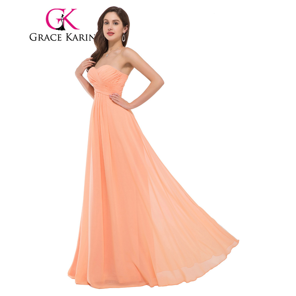 Wholesales Retail Free Shipping 1pc Lot Strapless Sweetheart Neckline Formal Night Gown Prom Ball Dress Chiffon
