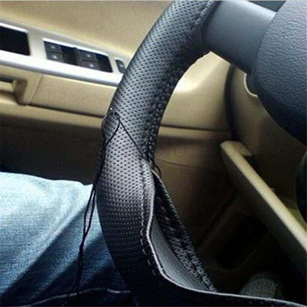 HTB1n8iNPXXXXXbgaFXXq6xXFXXXx - Braid On Steering Wheel Car Steering Wheel Cover With Needles and Thread Artificial leather Diameter 38cm Auto Car Accessories