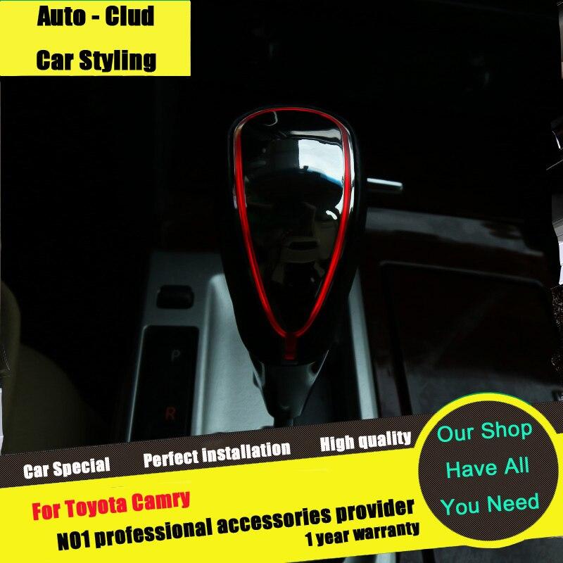 Авто-Clud для Toyota Carmy стенд головок Тюнинг автомобилей 2012-2015 специальные металлические автоматическая коробка передач глава <font><b>led</b></font> подсветкой рук&#8230;