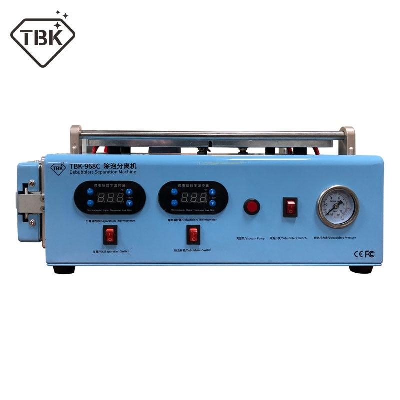 New TBK 968C LCD Screen Separate OCA Autoclave Bubble Remove Machine Built in compressor vacuum pump