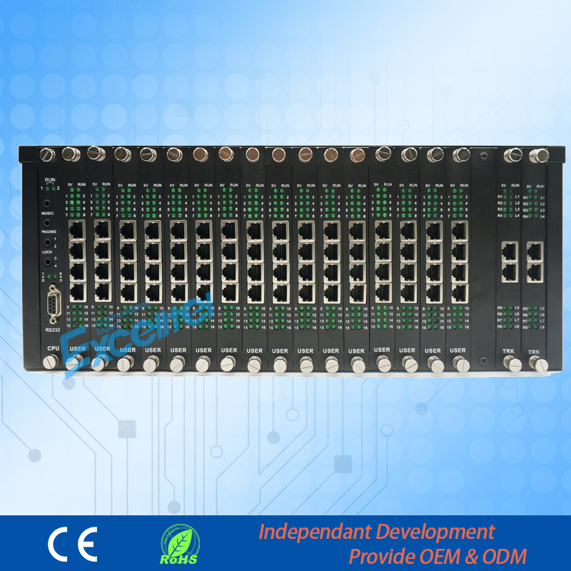 هاتف المجموعة PABX PBX لنظام امتدادات PBX - معدات الاتصالات