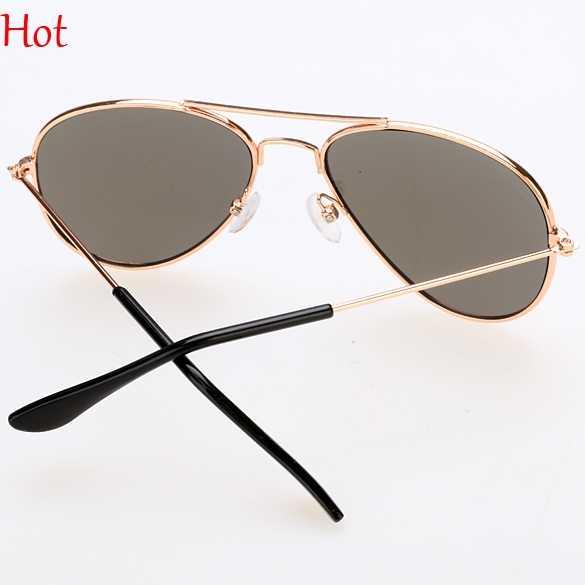2018 Nova Moda Infantil Óculos de Sol Meninos Meninas Crianças Bebê Criança óculos de Sol Óculos UV400 Viagem Refletir Óculos de Sol SV020182
