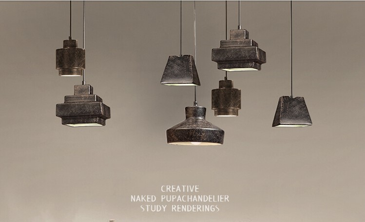 Retro Style Loft Led Vintage Industrial Lighting Pendant Light