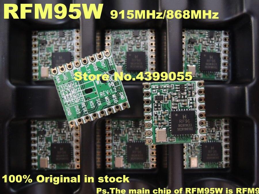 10PCS RFM95 RFM95W 868Mhz 915Mhz LoRaTM Wireless Transceiver