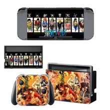 Game Sticker For One Piece For Nintendo Switch Console And Controlle Protective Skin Vinyl Decals Dust-proof