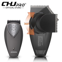2019 new hair clipper rechargeable trimmer electric 360 trainable shaver head Cordless USB hair cutting for men Portable haircut