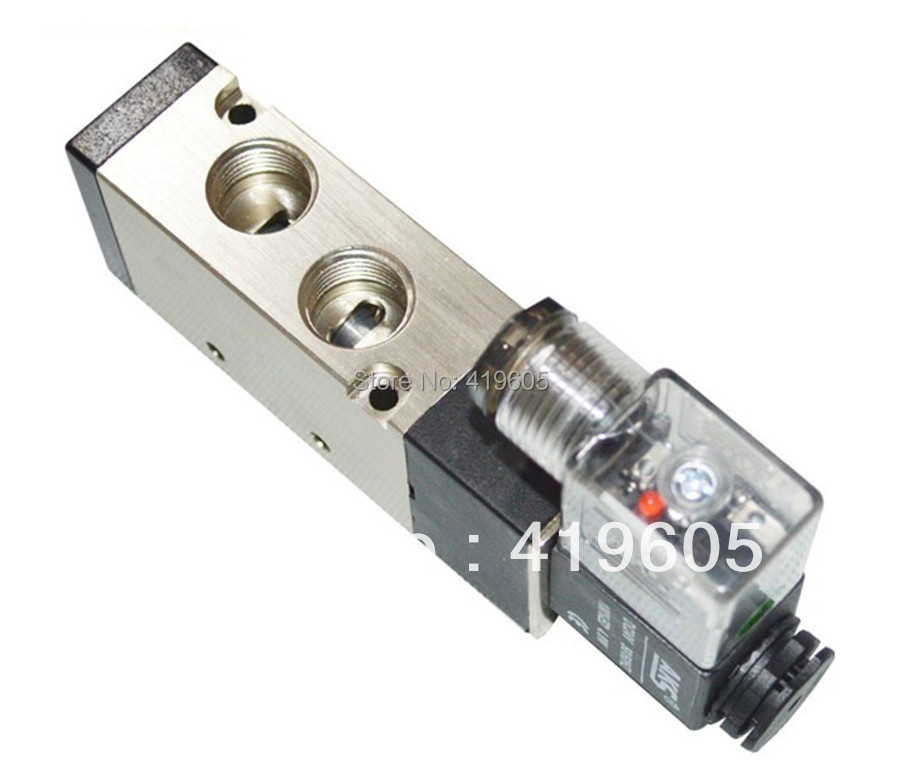 Pneumatic solenoid valve 3/8 4V310-10 ,220VAC 24VDC ,Pneumatic parts ,air valve,free shipping