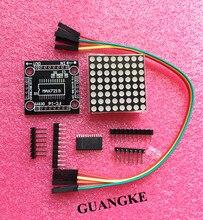MAX7219 dot matrix module microcontroller module DIY KIT (hei)