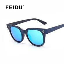 FEIDU 2016 NEW Fashion Square Wood Grain Sunglasses Women Brand Designer Classic Retro Sun glasses Men Gafas Oculos De Sol UV400