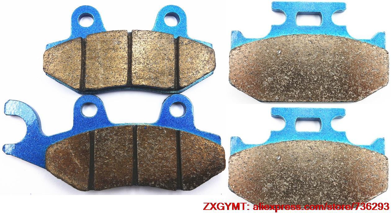 Sintering Motorcycle Brake Pad Set fit SUZUKI DR250 DR 250 L , M , N , EP , ER , ES 1990 - 1995