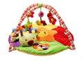 Brinquedo do bebê gym mat para o jogo tapete cobertor toque suave verme brinquedo arco