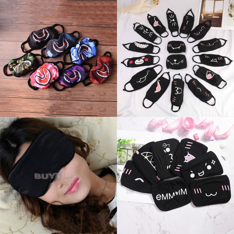 Unisex Face Mouth Mask Camouflage Mouth-muffle Respirator Cartoon Cotton  Masks Outdoor Health Care Masks ba5569b37511
