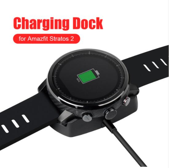 USB Dock Charger Adapter Fast Charging Cable Stand Data Sync Cord for Xiaomi Huami Amazfit 2
