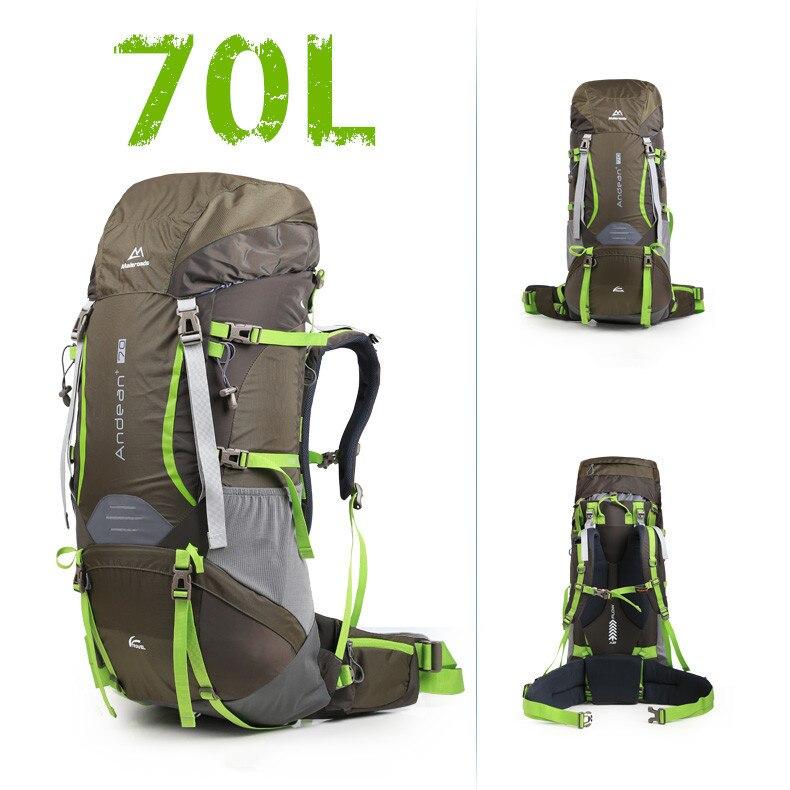 Prix pour Maleroads 70l professionnel escalade sacs top qualité cr sport en plein air randonnée camping sac à dos voyage alpinisme sacs mls2824
