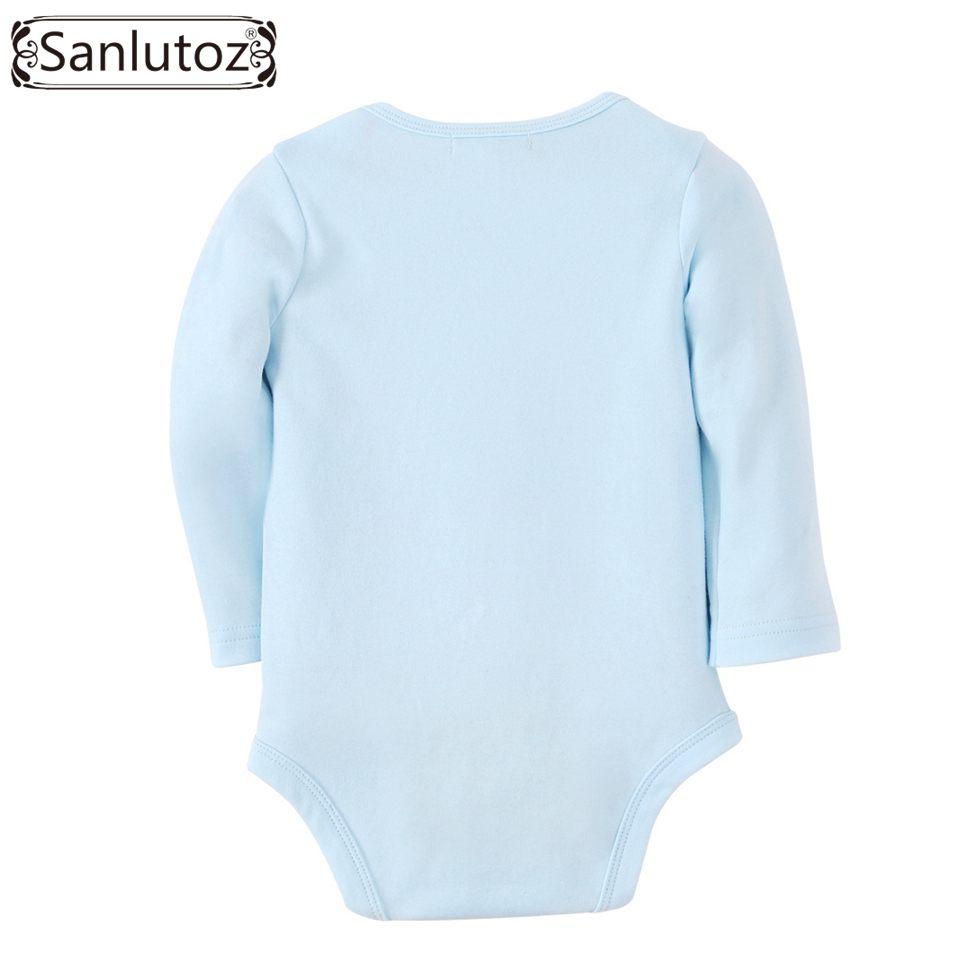 Sanlutoz Baby Clothes Newborn Baby Romper Boys Girls Winter Infant Clothing Clouds Stars Pattern Jumpsuits