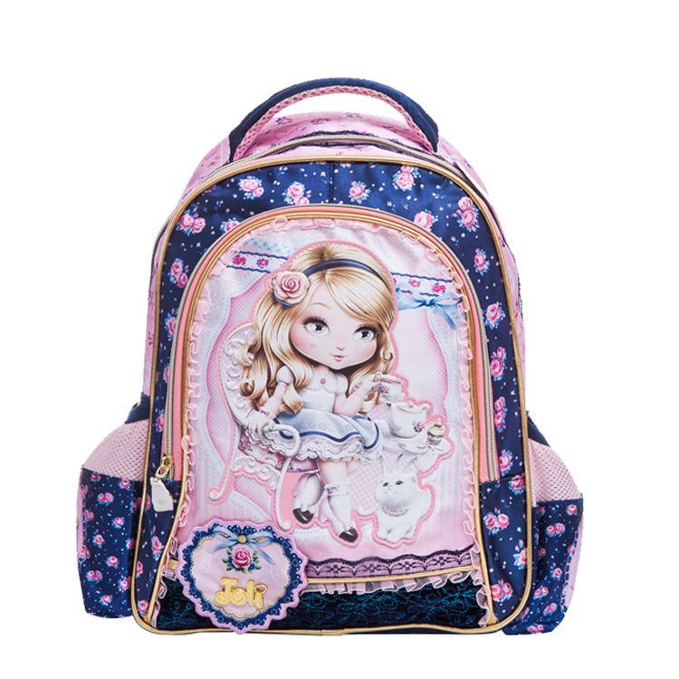 Lovely large capacity Princess Barbie children school bag girl font b kids b font students child