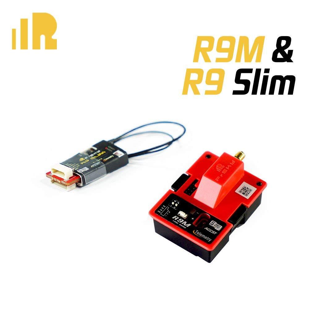 Module d'extension longue portée Frsky R9M avec mini récepteur Frsky R9 Slim 915 MHz/868 MHz à faible latence pour Drone Multicopter RC
