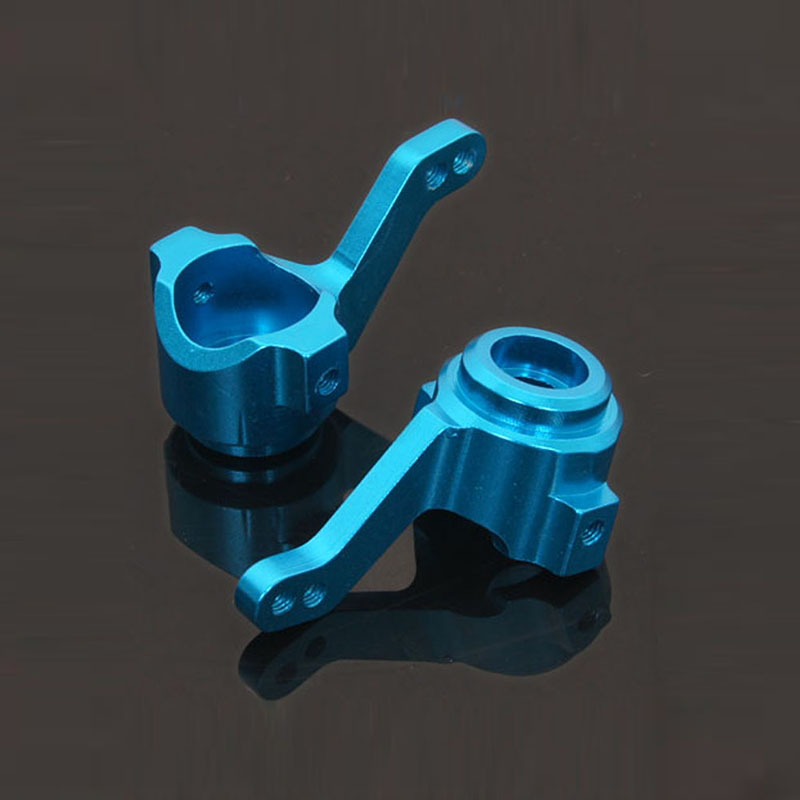 HSP Upgarde Parts 02014 102011 Aluminum Steering Hub(L/R) For 1/10 RC 94111 94123 Model Car Spare Parts Accessories