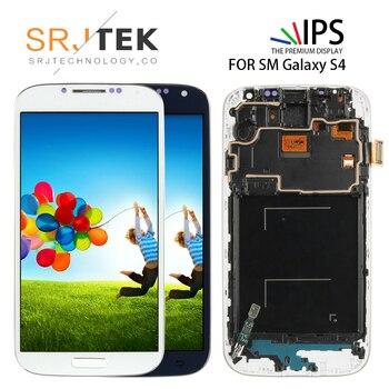 ce95dce9521 5,0 ''IPS LCD para Samsung S4 de pantalla táctil con marco GT-i9505  digitalizador LCD para Samsung Galaxy S4 LCD la pantalla de visualización