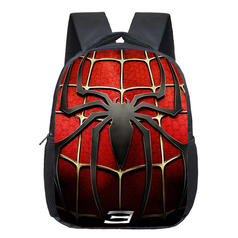 Comics Hero Spiderman Backpack Children Super Hero spider Man ...