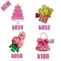 hand customize princess Free Shipping  50pcs Good Girl Bug Hair  Accessories Bow Clip Flower basket sunflower bloom floweriness