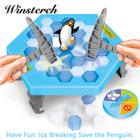 Interactive Ice Breaking Save Penguin Trap Parents Children Kids Funny Game Activate Entertainment Toy Penguin Trap