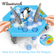 Cute Save the Penguin familly game