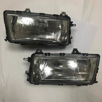 1 Pair New Front Head lamp light headlight For Audi 80 B3 Car Lights Assembly Daytime Running 1986 1987 1988 1989 1990 1991