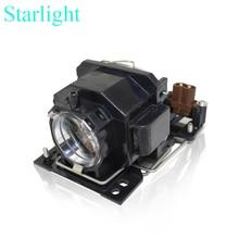 CP-X1 CP-X2 CP-X4 CP-X253 CP-RX70 HCP-60X HCP-70X HCP-75X HCP-76X ED-X20 ED-X22 MP-J1EF Projecteur Lampe ampoule DT00781 pour Hitachi