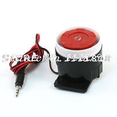 DC 12V 120db Sound Decibel Electronic Alarm Siren Horn Piezzo Buzzer anti cut siren alarm dc 9 12v