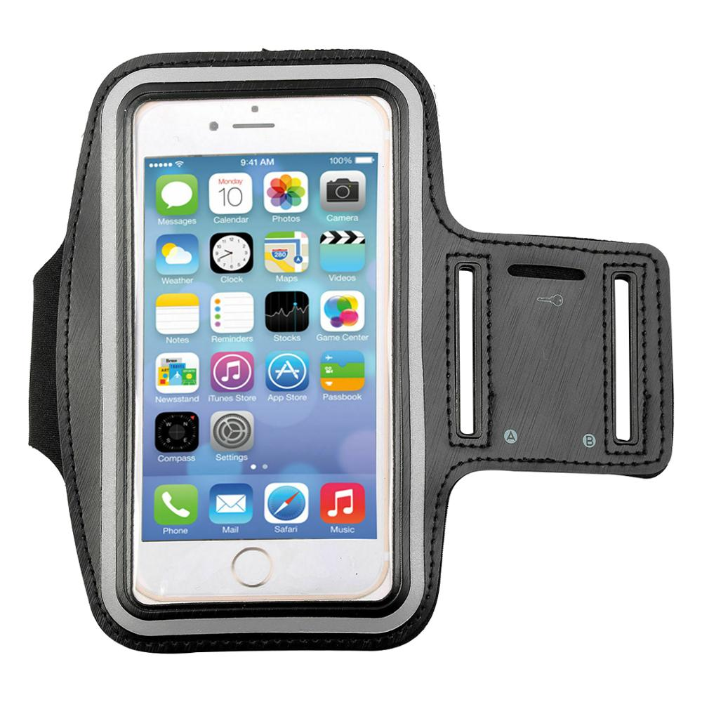 Sports Armband Holder Case Gym Running Jogging Strap Cover  4.7'' 5.5'' Inch Sports Cell Phone Holder Case