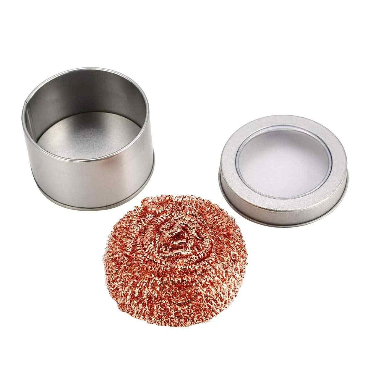 クリーニングボールはんだはんだごてメッシュフィルター洗浄ノズル先端銅線クリーナーボール金属ドロスボックスクリーンボール