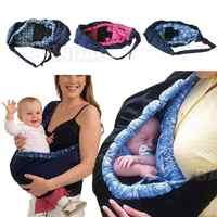 Recém-nascido portador do bebê sling envoltório bonito elegante swaddling cinta saco de dormir inclinado cruz alimentação frontal saco de transporte 3 cores