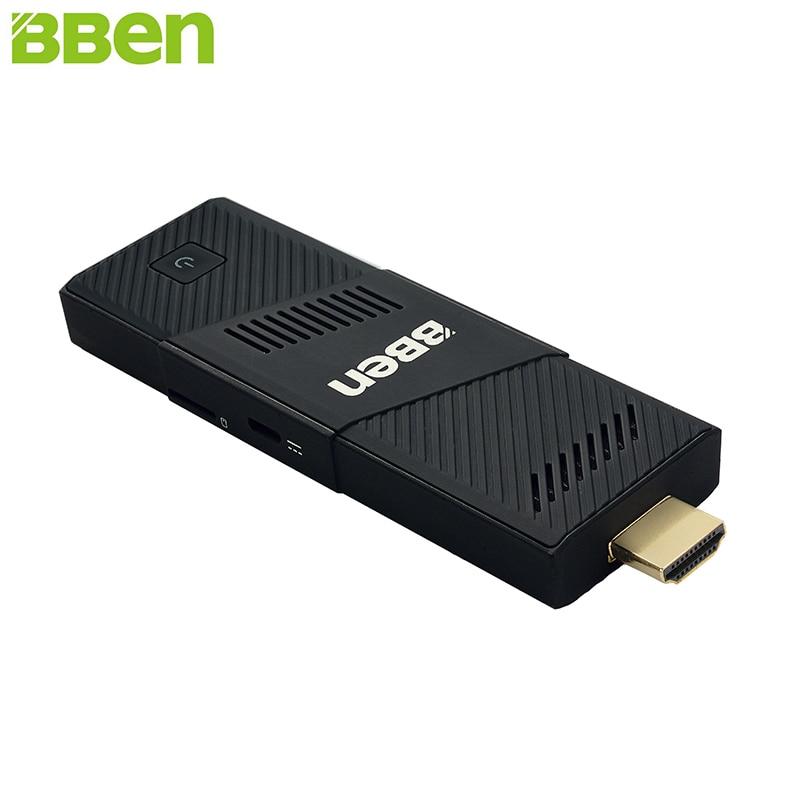BBen MN9 Mini PC Stick Windows 10 Ubuntu Intel Z8350 Quad Core Gráficos HD Intel 2 GB 4 GB RAM WiFi BT4.0 PC Mini computadora