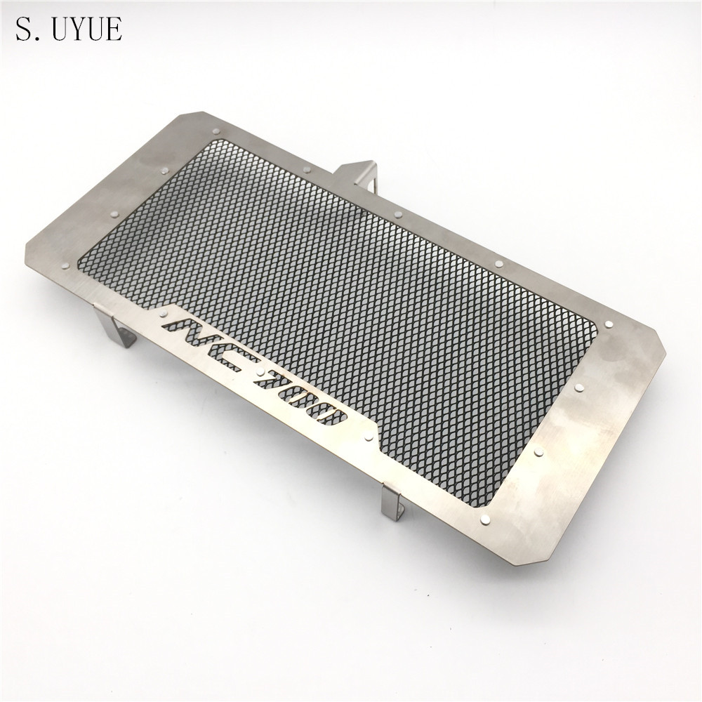 S.UYUE Motorcycle Radiator Protective Cover Grill Guard Grille Protector For Honda NC700 NC700S NC700X NC700N 2012-2016 motorcycle parts radiator grille protective cover grill guard protector for 2012 2013 2014 2015 2016 honda cbr1000rr cbr 1000 rr