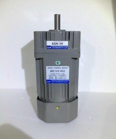 Nouvelle Vitesse Moteur/boîte de vitesses moteur 5IK90GU-C dans 220 VAC sur Power 90 W rapport de réduction 1:10 have18 sortes Vertical AC moteur avec un ventilateur