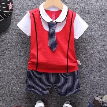 Summer Cotton Baby Clothing Set 2