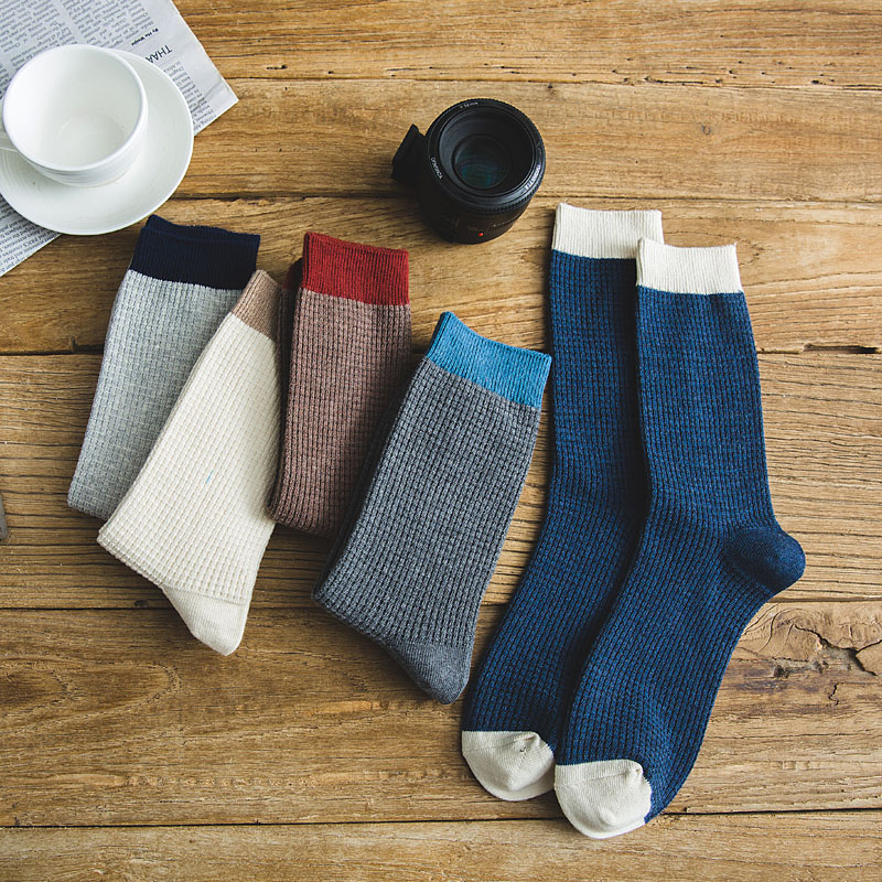2019 Bendu Brand New Men's Bamboo Socks Spring Summer Crew Socks Fashion Casual Breathable 5 Pairs
