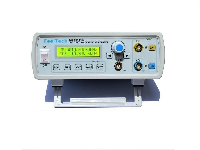 8MHz Dual Channel DDS Function Signal Generator Sine Square Wave Sweep + Counter