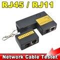 Новые полезная портативный мини RJ45 RJ11 Cat5 Cat6 сеть LAN кабель тестер с брелка 9 светод. сетевой шнур трекер детектор