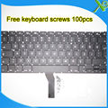 "Brand New TR Turkish Turkey keyboard+100pcs keyboard screws For MacBook Air 13.3"" A1369 A1466 2010-2015 Years"